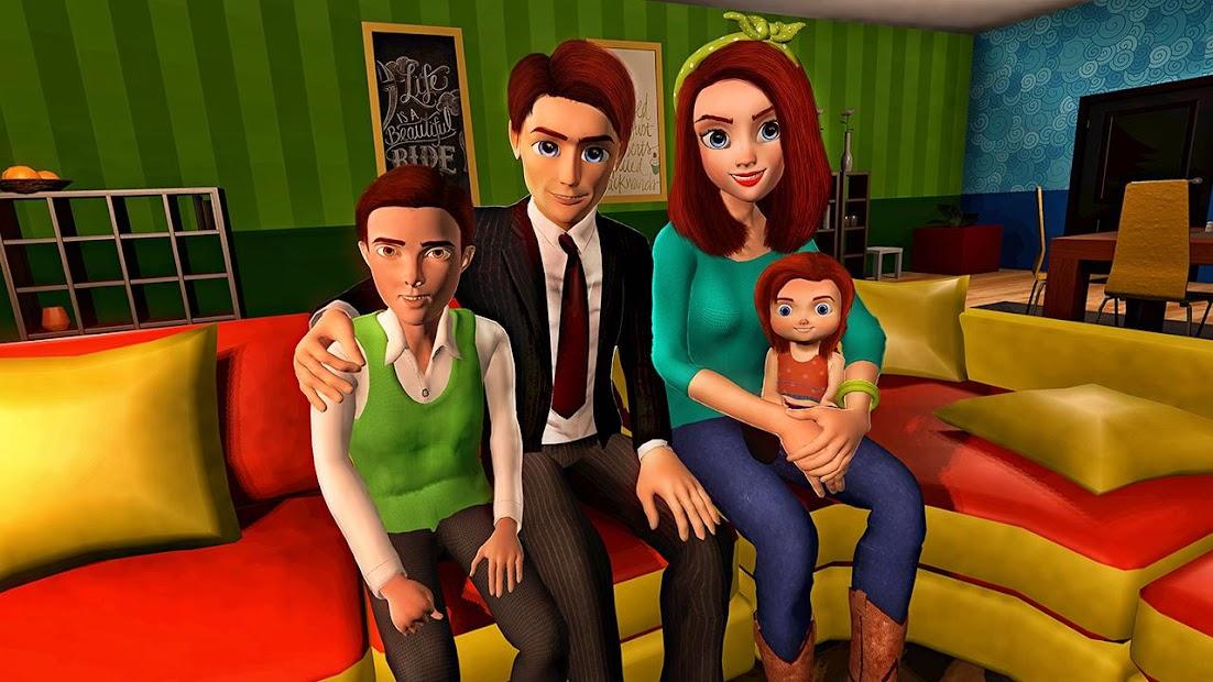 Virtual Mother Game: Family Mom Simulator screenshot 4