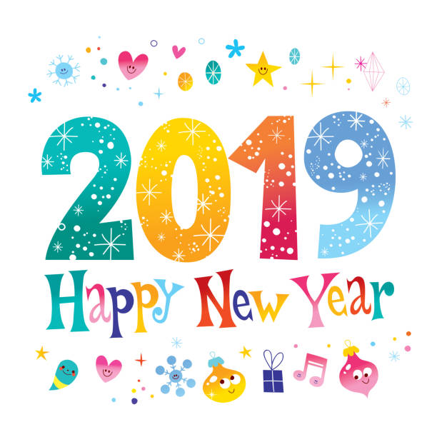 Image result for 2019 happy new year clip art free