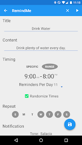 Randomly RemindMe v1.0.5
