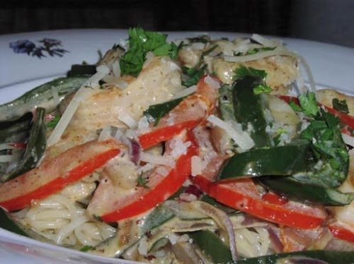 """Santa Fe Pasta & Shrimp """"This is very yummy! I was surprised..."""