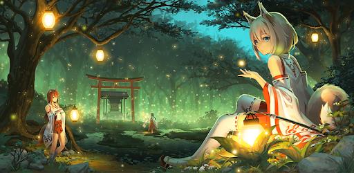 Anime Fan Wallpaper of Miko Fox - التطبيقات على Google Play