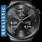 Black Metal HD Watch Face Widget & Live Wallpaper icon