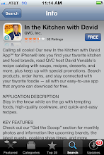 Photo: After my quiz I used my iphone to download David's app {Its FREE!!} to watch his show live.