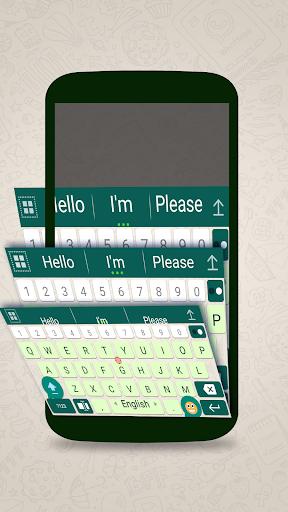ai.keyboard theme for WhatsApp 5.0.3 screenshots 3