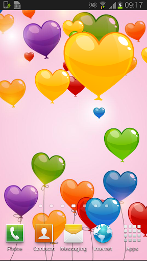 Color Love Valentine Free LWP