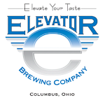 Logo of Elevator Razz White & Blue