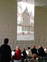 Photo: Inspiratie was dit hele oude café in Gent: In den platte beurs.