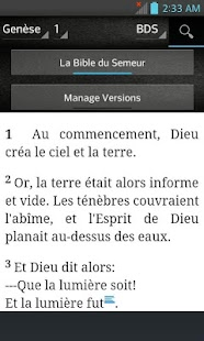 Bible du Semeur-BDS (French) - náhled