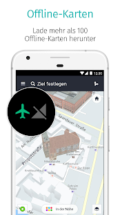 HERE WeGo - Routenplaner & GPS Screenshot