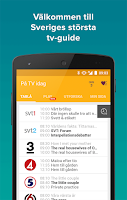 Screenshot of tv.nu