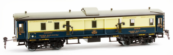 Photo: CIWL Pullman Baggage Car no. 3354
