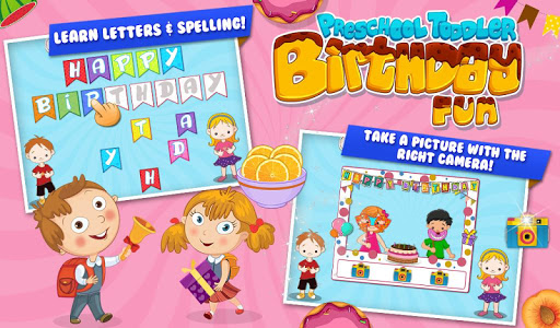 Preschool Toddler Birthday Fun v1.0.1