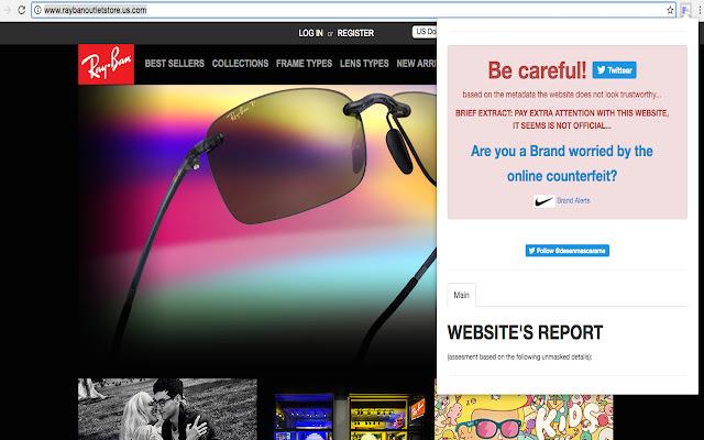 Desenmascara.me FAKE web verification Plugin