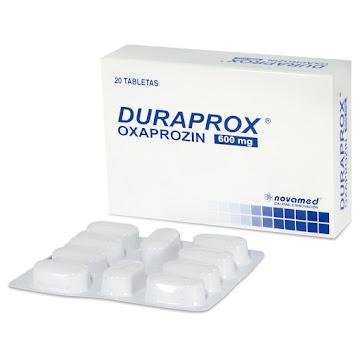 Duraprox 600Mg Tabletas   Caja x20Tab. Novamed Oxaprozin