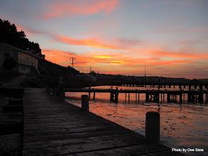 Photo: (Year 2) Day 309 - Setting Sun at Oamaru Jetty