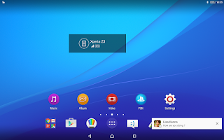 Screenshot of Xperia Link™