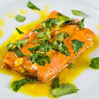 Turmeric Glazed Salmon Recipe
