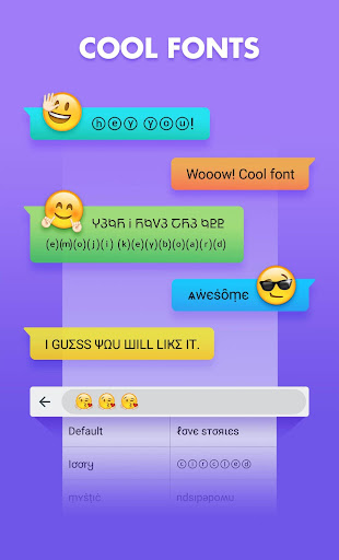 Smiley Emoji Keyboard 2018 - Cute Emoticons 1.2.0 Screenshots 7