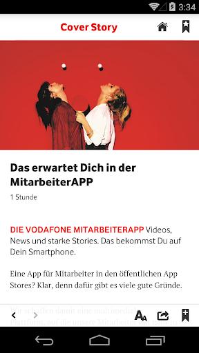 Vodafone Mitarbeiterapp 2.5.2 screenshots 2