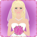 wedding dress up games icon