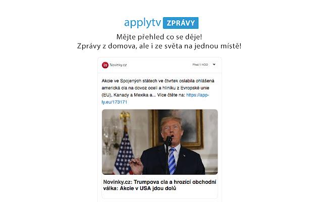 Applytv Zprávy