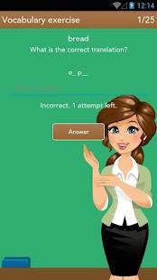 Spanish Class- screenshot thumbnail