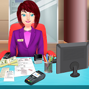 Virtual Cashier & Bank Manager: City Job Simulator