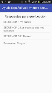 Español Vol I 1er. Secundaria- screenshot thumbnail