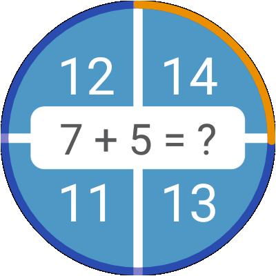Math games: arithmetic, times tables, mental math screenshots 17