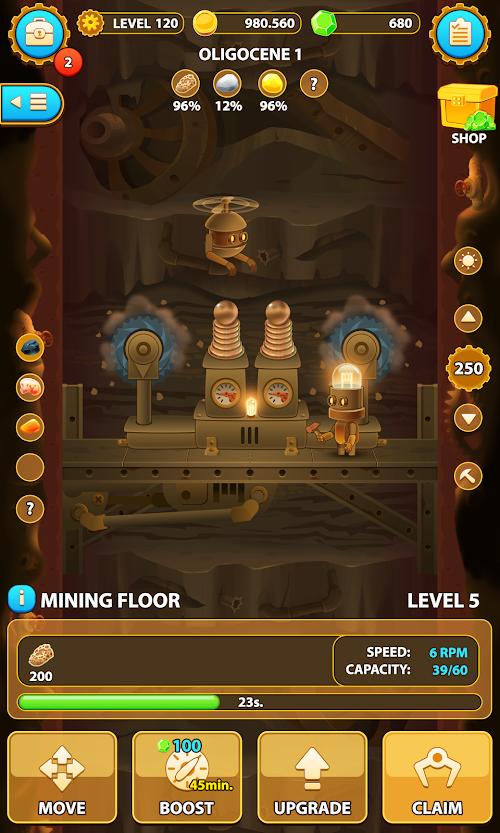Screenshot 1 Deep Town: Mining Factory 3.9.2 APK MOD