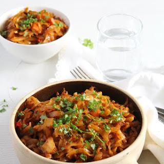 Romanian Stewed Cabbage.