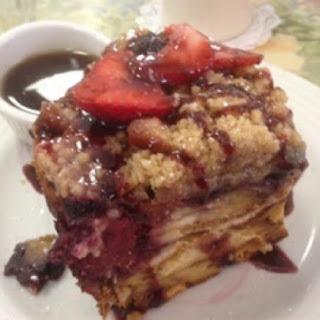 Three Berry French Toast Bake
