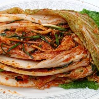 Baechu Kimchi (Korean Kimchi)