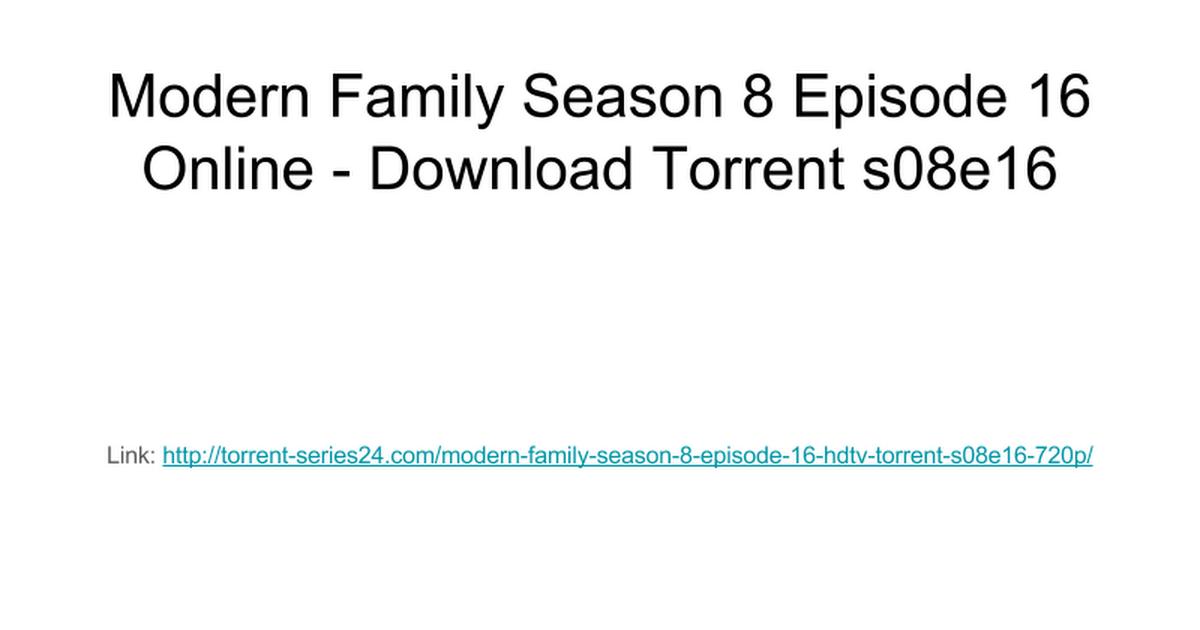modern family complete torrent