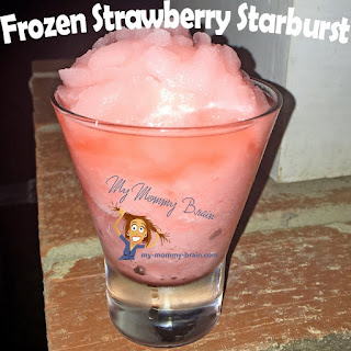 Frozen Strawberry Starburst