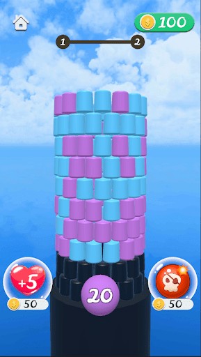Knock Tower - Free Fun Cool games apklade screenshots 1