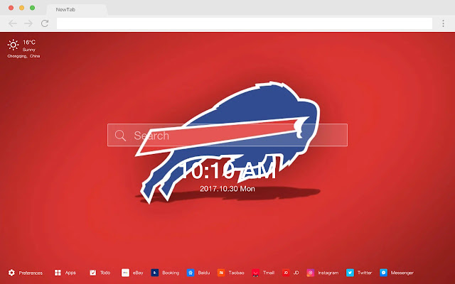 Buffalo Bills HD New Tabs Popular NFL Themes