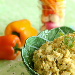Curry Cauliflower Dip
