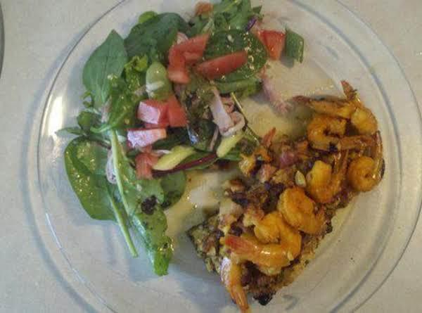 La Vonne's New England Garlic Shrimp & Salmon Recipe
