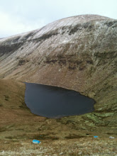 Photo: Lake Bohreen on Mike Moroney's A walk to Galtymore, Sunday January 26th, 2014. 3 of 4
