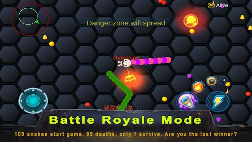 Télécharger Bataille de serpent: mode couleur APK MOD (Astuce) screenshots 3