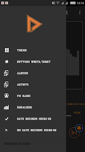 Audio player theme - náhled