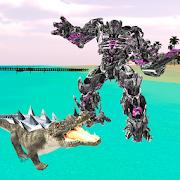 Robot Crocodile - Futuristic Robot Transformation 1.2