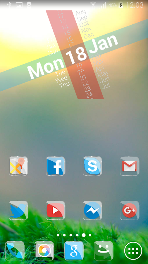 Glass icon pack android games