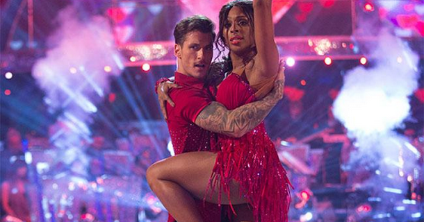 Alexandra Burke has theory for Strictly criticism