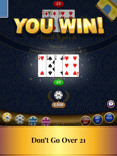 Blackjack Card Game screenshot 10