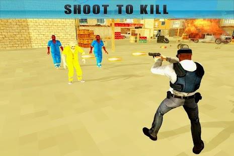 Shoot Vězeň policejní odstře - náhled