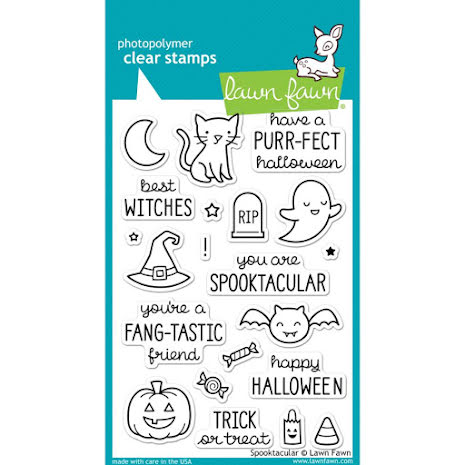 Lawn Fawn Clear Stamps 4X6 - Spooktacular