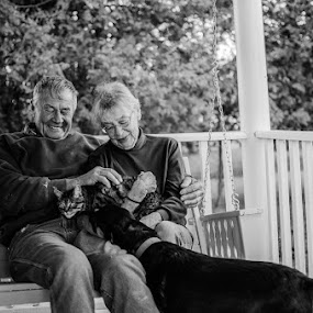 True Love by James Manning - People Family ( michigan, friends, granddad, family, grammie, pselect, people, hubbard lake )