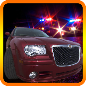 Real cops police chase 3D car for PC and MAC